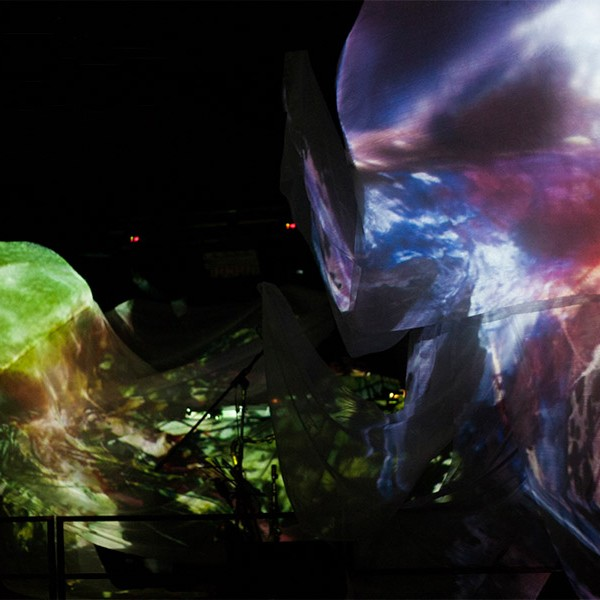 Projection mapping club