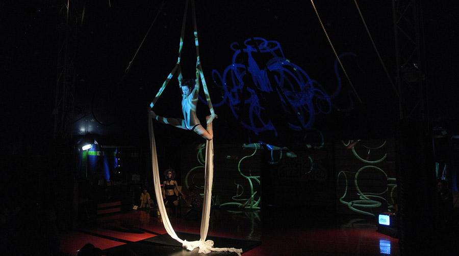 Video installazione teatro