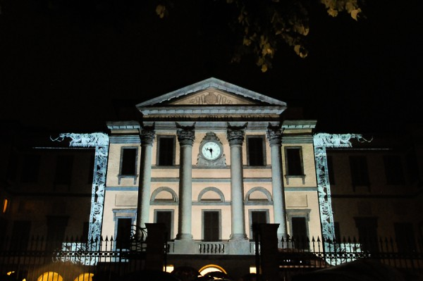 VIDEO MAPPING PINACOTECA CARRARA