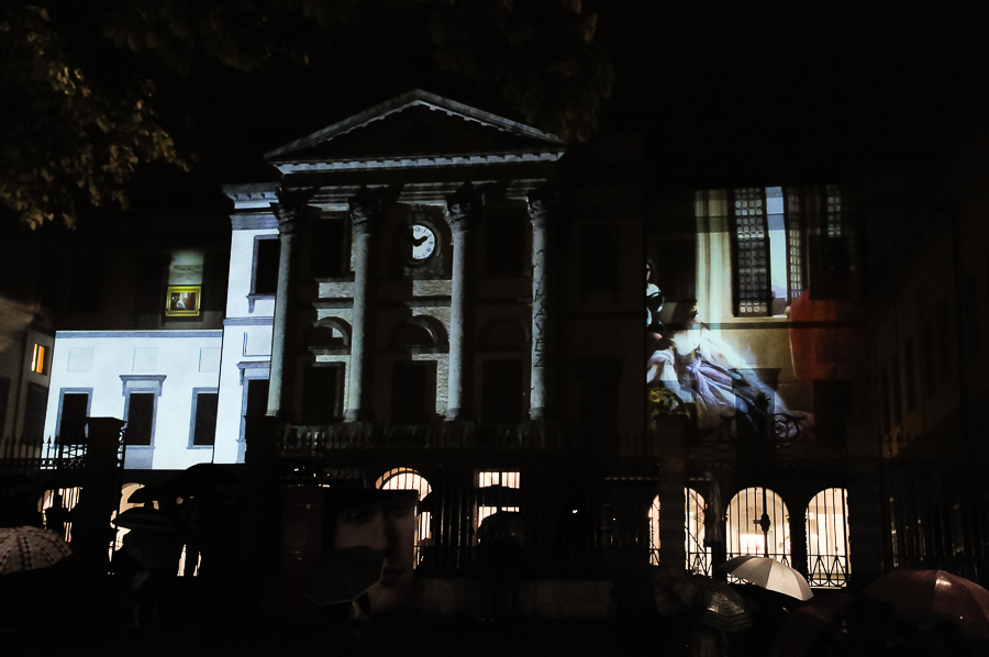 Video mapping Carrara