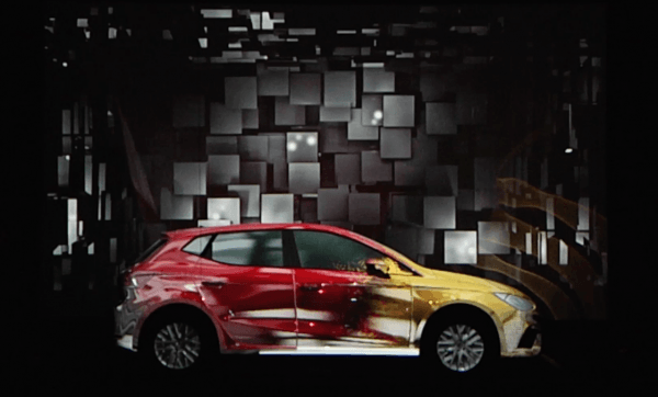 VIDEO MAPPING SEAT IBIZA